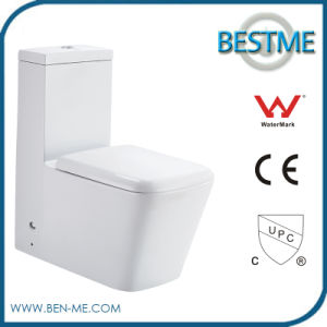 Popular New Style Sanitary Ware One Piece Square Toilet (BC-1309) pictures & photos
