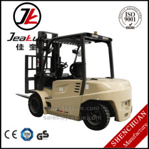High-Quality Fb50 Counterbalance Electric Forklift pictures & photos