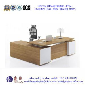 Italian Office Furniture Wooden Office Executive Desk (BF-025#) pictures & photos