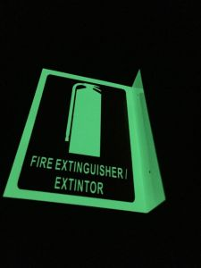 Fire Extinguisher Sign pictures & photos