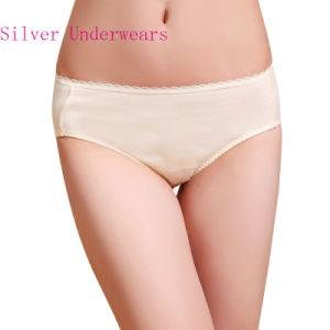 Anti-Bacterial Cotton Underwear with Silver Fiber for Women pictures & photos