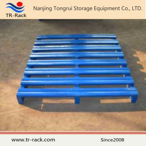 Heavy Duty Industrial Powder Coating Steel Pallet From Tr-Rack pictures & photos