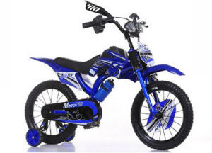Boys Moto Bike 16 Inch Kids Dirt Bicycle Blue BMX Age 4-8 pictures & photos