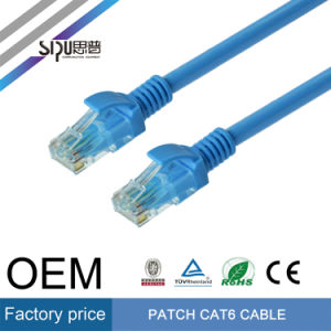 Sipu Low Price Bare Copper CAT6 Patch Cord UTP Cable pictures & photos