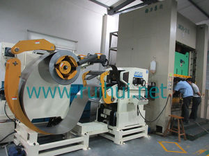 Coil Sheet Automatic Feeder with Straightener for Press Line in Coil Handling Systems pictures & photos