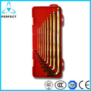 Cr-V Steel PP Handle Best Hex Key Set pictures & photos
