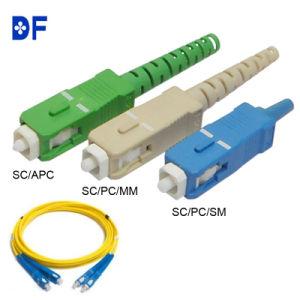 Duplex Simplex 2.0/3.0mm Fiber Optical SC/PC Sc/APC Connector pictures & photos