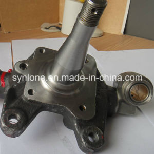 OEM Customized Steel Forging Products for Austin Mini, Stud Axle Left with Nut pictures & photos