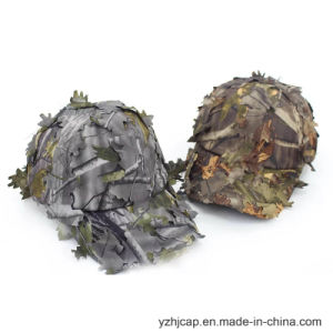 Custom Embroidery Cap Burshed Cotton Promotional Sports Embroidery Camo Hunt Hat pictures & photos