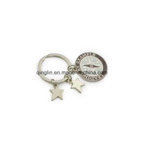 Metal Five-Pointed Stars Keychain Key Holder Key Ring pictures & photos