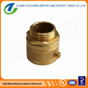 Brass Flexible Adaptor Male Conduit Fittings pictures & photos