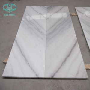 Chinese White Marble Gx White Marble Tile pictures & photos