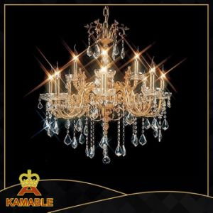 Hotel Decoration Projection Crystal Chandelier Lighting (MD96016-8+4) pictures & photos