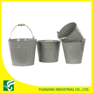 Portable Decorative Party Metal Bucket with Handle pictures & photos