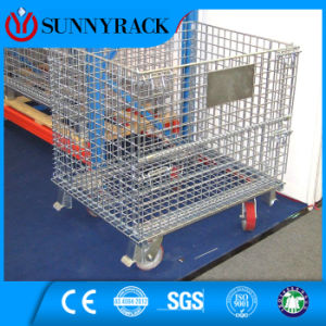 Warehouse Storage Heavy Duty Wire Mesh Cage pictures & photos