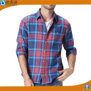 2017 Spring Men Cotton Flannel Shirt Design Stylish Shirts