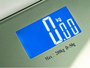 8mm Glass Digital Bathroom Scale for Hotel pictures & photos