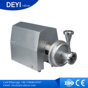 1.5t 14m 0.55kW Stainless Steel AISI304 Sanitary Centrifugal Pumps pictures & photos