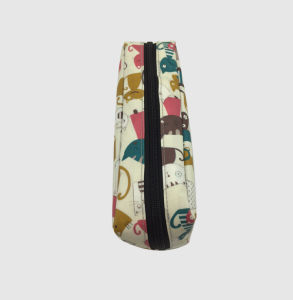 Laminated Cotton Cosmetic Bag pictures & photos