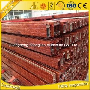 6063 T5 Wood Grain Handrail Elbow pictures & photos