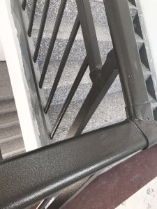 Bronze Powder Coated Galvanized Steel Fencing for Stairs pictures & photos