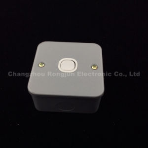 UK 1 Gang 1way Metal Wall Switch (ME-001) pictures & photos