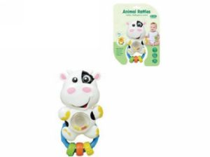 Kids Plastic Educational Cow Animal Rattles Baby Toy pictures & photos