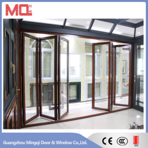 Custom Aluminum Accordion Folding Door Factory pictures & photos