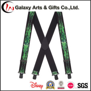 Wholesale Cheap Natty Men′s Elastic Custom Printing Suspender