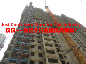 Convenient Durable Stable Floor Wireless Floor Construction Building Elevator/Hoist Pager System pictures & photos