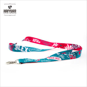 Custom Breakaway Lanyards Full Color Printing on Both Sides pictures & photos