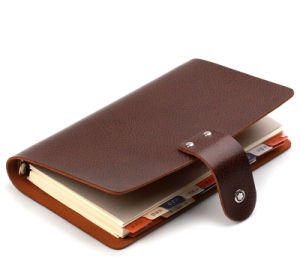 Stationery Custom-Made Memo Pad PU Leather Notebook Printing pictures & photos
