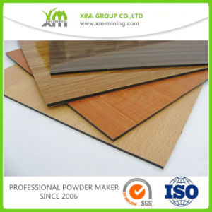Wood Effect/ Wood Grain Finished Coating Powder Applied by Heat Transfer Process pictures & photos