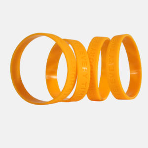 Free Design Custom Logo Silicone Wrist Band Army Bracelet