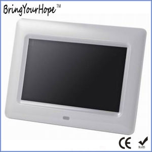 Right Price 7 Inch MP3 Video Plastic Digital Picture Frame (XH-DPF-070J) pictures & photos