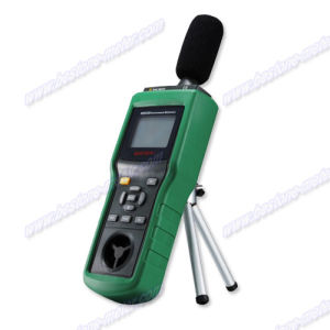 Multifunction Environment Meters, Sound Level Meter, Anemometer, Lux Meter, Temperature and Humidity Meter, Multifunction (5 in 1) Environment Meters (MS6300) pictures & photos