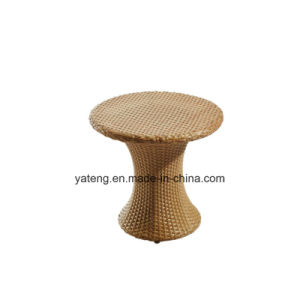 Modern Wicker Outdoor Furniture Patio Garden Table with Strong Aluminum Frame (YT668) pictures & photos
