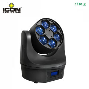 6X15W Color Mixing RGBW 4in1 Bee LED Moving Head Light pictures & photos
