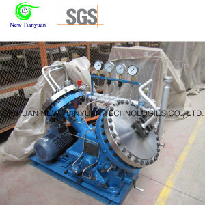 Pressure Boosting From Atmosphere to 20MPa Diaphragm Compressor pictures & photos
