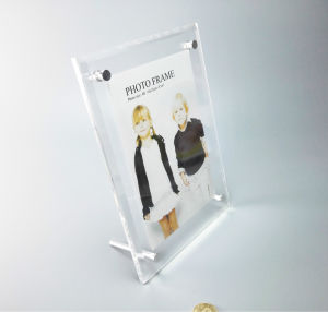 Clear Acrylic Picture Photo Frame Photo Frame 4X6, 5X7 Wholesale Custom Acrylic Photo Frame pictures & photos