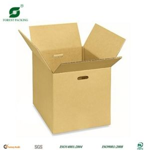 Foldable Color Corrugated Paper Box with Custom Logo pictures & photos