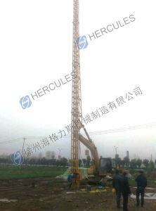 Vertical Drain Installation Equipment PVD Machine 25m pictures & photos