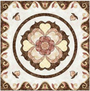 Flower Pattern Carpet Tile Polished Crystal Ceramic Floor Tile 1200X1200mm (BMP27) pictures & photos