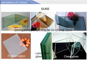 PVC Sliding Window with Fly Screen pictures & photos