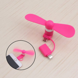 High Quality Business Gift Portable USB Mini Fan for iPhone pictures & photos