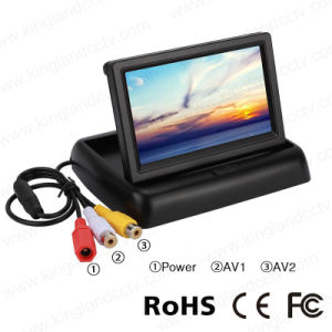 4.3 Inch Foldable Back up Reversing Rearview Monitor pictures & photos