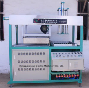 Semi-Automatic Single Station Plastic Vacuum Forming Blister Forming Machine
