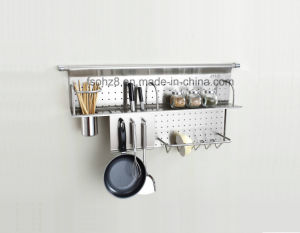 Kitchen Assistant Stainless Seasoning Rack and Knife Holder (346) pictures & photos