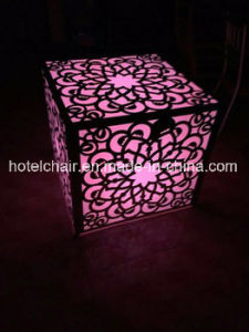 New Fashion Telecontroller LED Light Wedding Party Table and Chairs pictures & photos