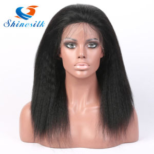 Virgin Brazilian Human Hair Full Lace Front Wigs Frontal Lace Wig pictures & photos
